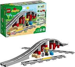 LEGO DUPLO Town - Puente y vías ferroviarias (10872) Juego de construcción