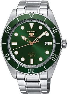 5 Sports SRPB93J1 Men's Green Dial Watch