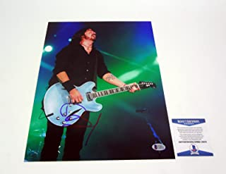 Dave Grohl Nirvana Foo Fighters Signed Autograph 11x14 Photo Beckett BAS COA #2