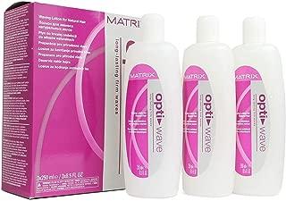 Matrix Opti Wave Waving Lotion Natural Perm 3x8.5 Ounce 3x250 Milliliters