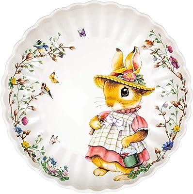 2555 Villeroy /& Boch Toy/'s Fantasy Schale oval gross Santa mit Schlitten