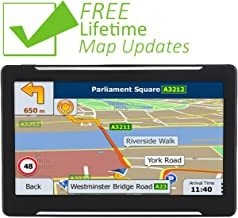 GPS Navigation for Car, 2019 Map, 7 Inches HD Touch Screen Direction Car GPS Navigation System with Built-in Lifetime Maps Update
