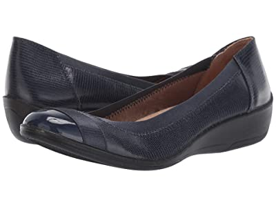 LifeStride Indigo (Lux Navy Mini Lizard/Patent) Women