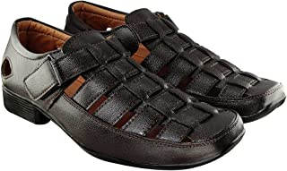 Blinder Black Brown Sandals for Men
