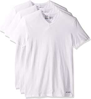 Columbia Mens Men's T-Shirt Short Sleeve T-Shirt - White - Medium