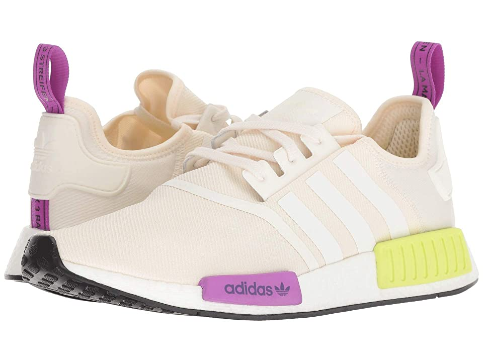 adidas Originals NMD_R1 (Chalk White/Chalk White/ Semi Solar Yellow) Men