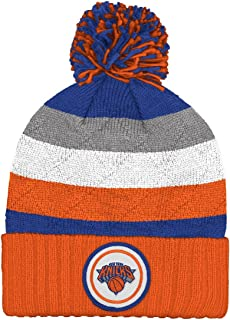 73dd1a30b49 Mitchell and Ness NBA Current Quilt Stripe Crown Knit Hat (KS49Z)