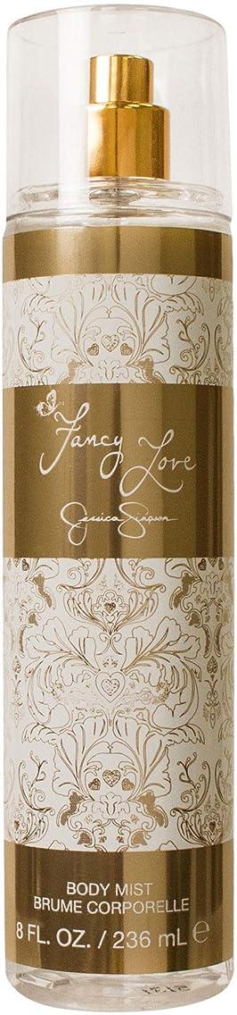 アダルト手つかずのFancy Love (ファンシー ラブ) 8.0 oz (240ml) Body Mist (ボディーミスト) by Jessica Simpson (ジェシカ?シンプソン) for Women