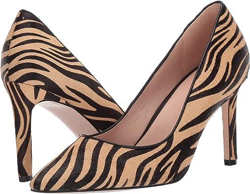 New Nude Zebra Print Calf Hair