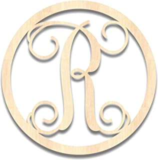 3 letter circle monogram