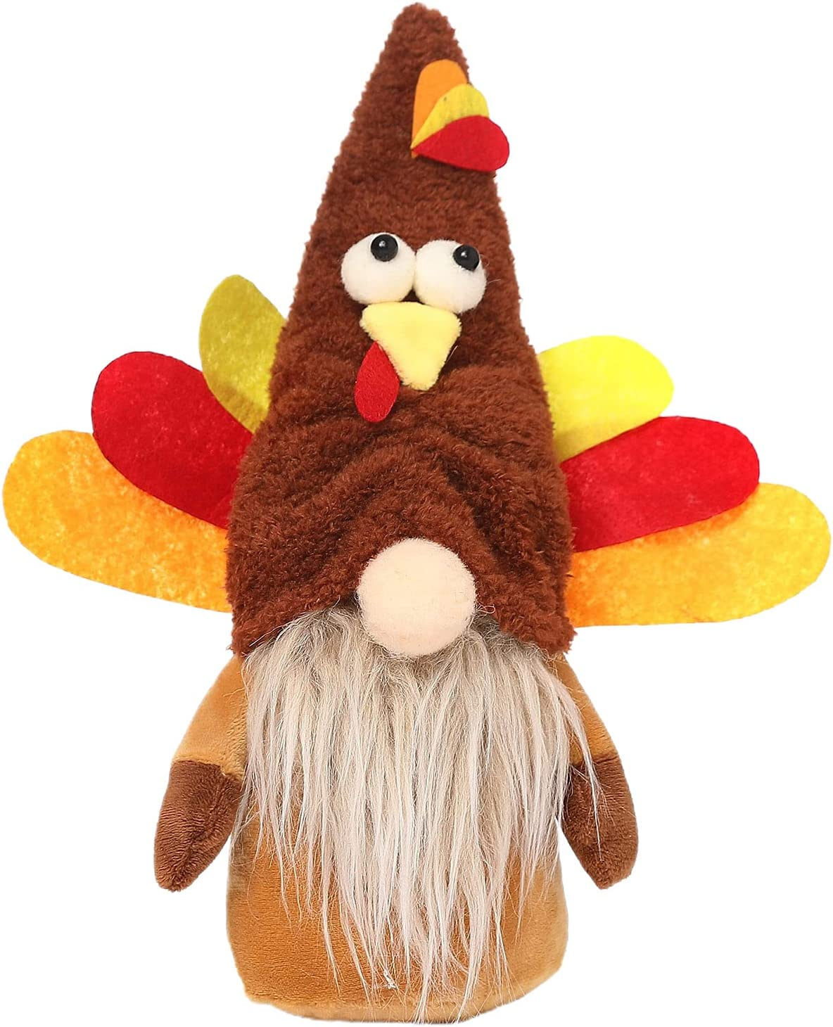 Hislaves Thanksgiving Challenge the lowest price Faceless Turkey Max 78% OFF Dwarf Cotto Hat Decoration