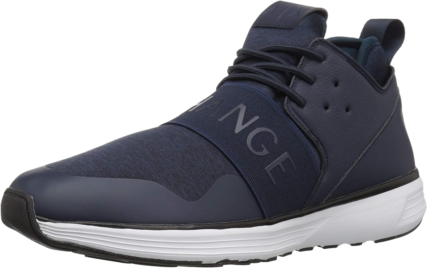 A X Armani Exchange Herren Mid Top Lace Up Turnschuhe Turnschuh