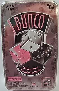 Bunco Dice Game in Tin Box