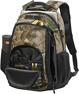 Joe`s USA Durable Packable Handy Travel Hiking Backpack Daypack (Realtree Xtra/Black)