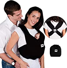 Baby K'tan Original Baby Wrap Carrier, Infant and Child Sling - Simple Pre-Wrapped Holder for Babywearing - No Tying or Ri...