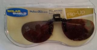 56 Oval Solar Shield Polarized Flip-up Driving Lenses