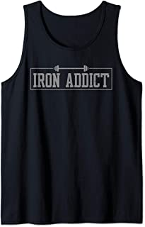 Iron Addict Gym Fitness Lifting Bodybuilder Workout Tank Top