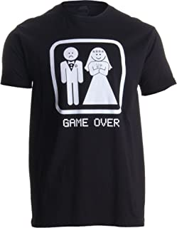 Game Over | Funny Bachelor Party, Wedding Groomsman Humor Groom Men T-Shirt