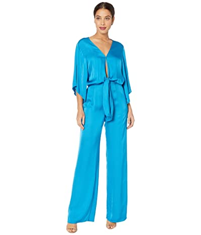 Young Fabulous & Broke Breezy Jumpsuit (Bali Blue) Women