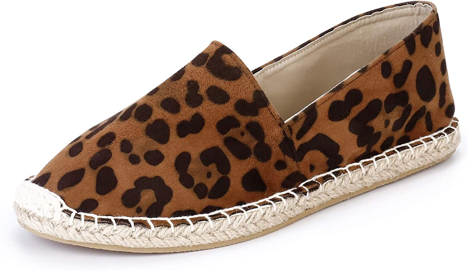SANDALUP Women's Loafers Slip On Closed Toe Flats Espadrilles