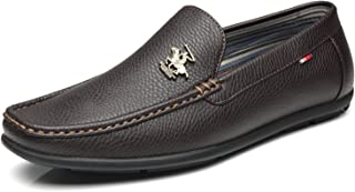 Men's Driving Moccasins Slip On Loafers Comfortable...