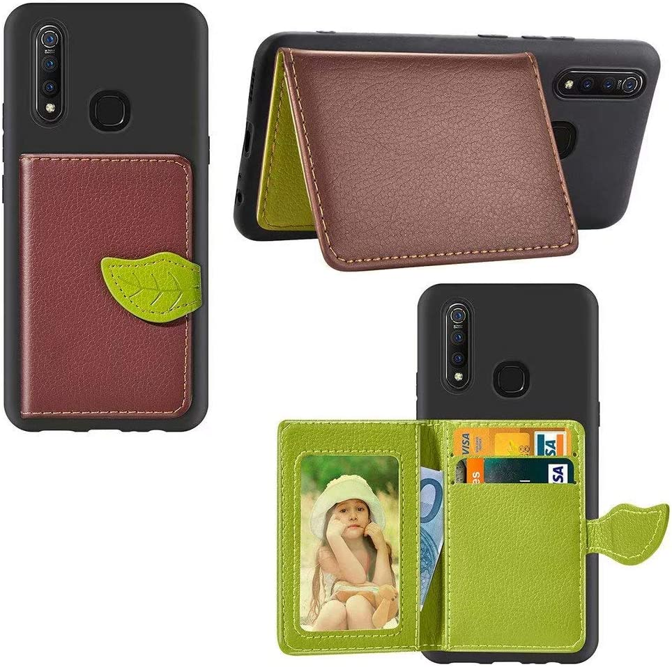 Abtory Vivo Z5x Wallet Case PU Leather Flip Discount mail order Foli Printed Tree Branded goods