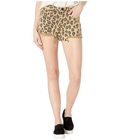 Blank NYC The Barrow Vintage Leopard Shorts in Stubborn (Stubborn) Women