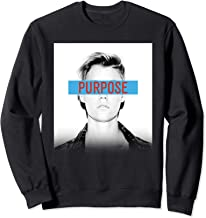 Justin Bieber Official Purpose Block Sweatshirt