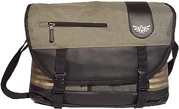 Nintendo Legend Of Zelda Men's Messenger Bag, Green