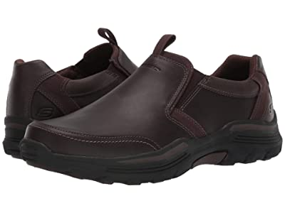 SKECHERS Relaxed Fit Expended Morgo (Chocolate) Men