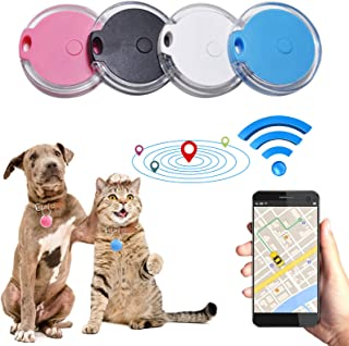 $23 » GPS Tracker for Dogs,Smart Key Finder Locator, GPS Tracking Device for Kids Pets Keychain Anti Lost Tracking Device with G...