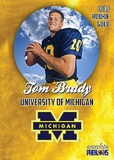 tom brady topps rookie card