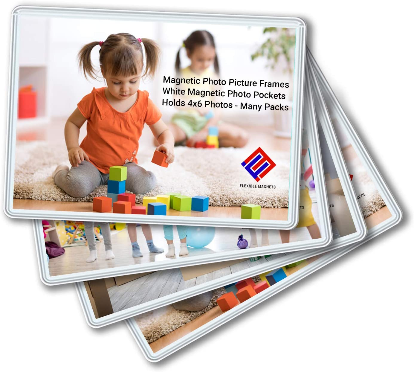 4 years warranty Mail order Magnetic Photo Holders for Picture Refrigerator -