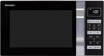 Sharp Home Appliances R-360S Encimera Solo - Microondas (Encimera, Solo microondas, 23 L, 900 W, Tocar, Plata)