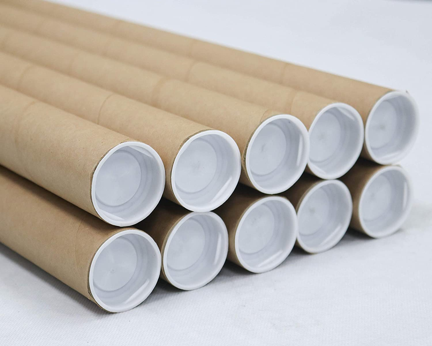 1.5 cheap inch Luxury x 12 Mailing Tubes Pack MagicWat 10 Caps with