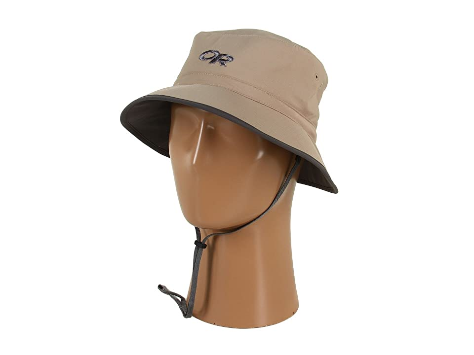 Outdoor Research Sun Bucket (Khaki/Dark Grey) Traditional Hats