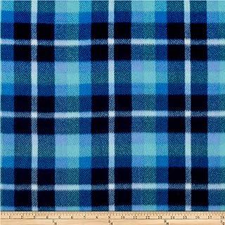 Newcastle Fabrics Polar Fleece Brinkley Blue Fabric By The Yard