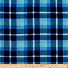 Newcastle Fabrics Polar Fleece Brinkley Blue Fabric By The Yard