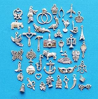 Charm - Jewelry - Pendant - Cake Pull 43 pcs Mix