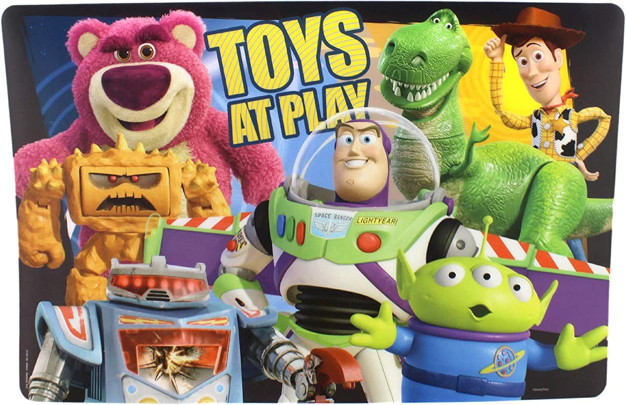 Toy Story 3 Toys At Play Kids Dinner Table Placemat