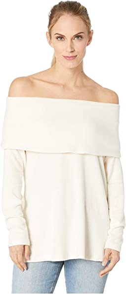 Capri Cozy Off the Shoulder Top