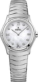 EBEL Ladies 1216417A Sport Classic & Stainless Steel Swiss Quartz Watch