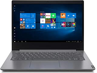 """Lenovo V14 - Ordenador portátil 14"""" HD (AMD Ryzen 3-3250U, 4GB RAM, 128GB SSD, UMA Graphics, Windows 10 Pro), Color gris -..."""