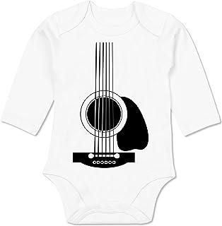 Shirtracer Strampler Motive - Gitarren Body - Baby Body Langarm