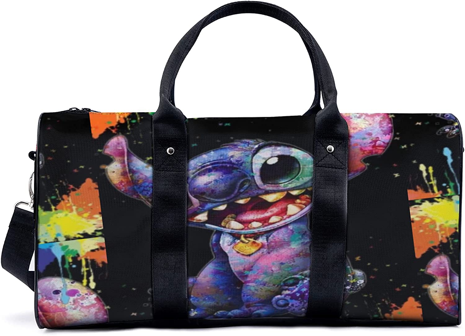 Stitch Fun Lilo Sports Duffle Limited time trial price Bag Travel Gym Adj With Duffel 70% OFF Outlet
