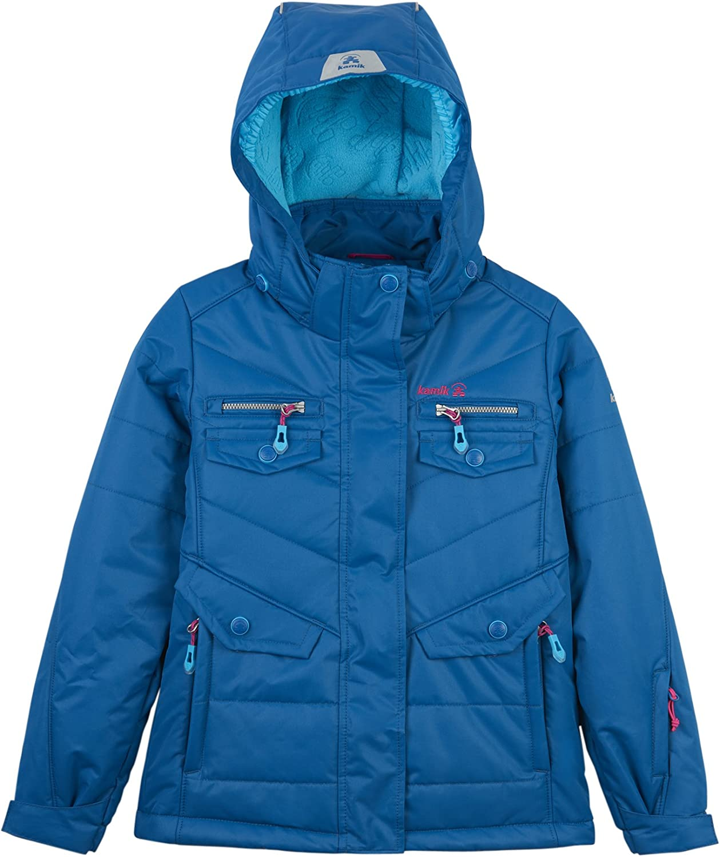 Kamik Winter Apparel Girls' Quantity limited Solid Jacket Insulated Las Vegas Mall Minnie