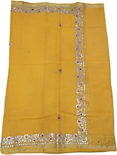 Women's Kota Doria Cotton Saree With Blouse Piece
