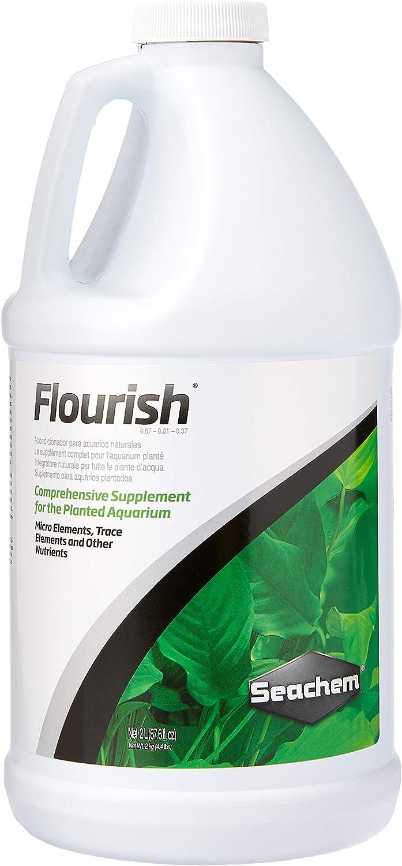 Seachem Flourish outlet Freshwater Direct store Plant Aquarium Element - Supplement