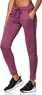 Under Armour Women's Tech Terry Pants, Purple (Level Purple/Black), Small