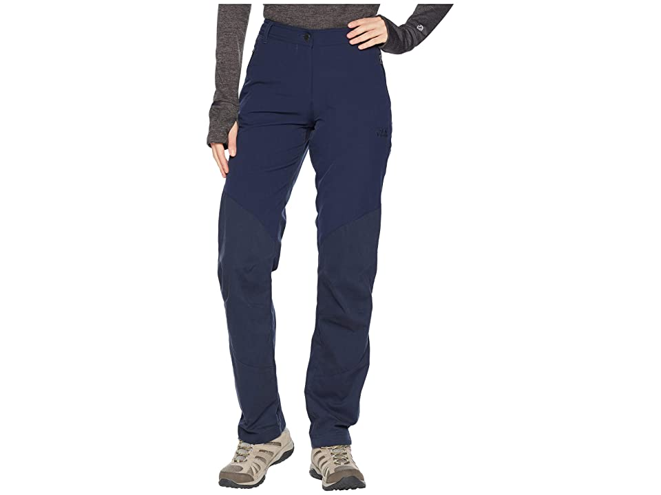 Jack Wolfskin Drake Flex Pants (Midnight Blue) Women
